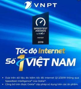 Vnpt dẫn đầu tốc độ Internet
